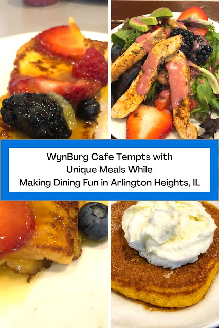 WynBurg Cafe Tempts with  Unique Meals While  Making Dining Fun in Arlington Heights, IL