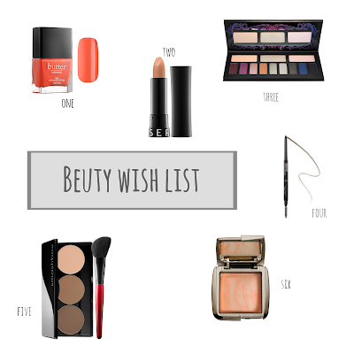 Spring Makeup//contour kit, ambient lighting blush, kat von d eyeshadow  thehollypaige.blogspot.com