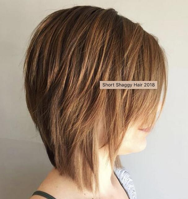 short shaggy hair 2019