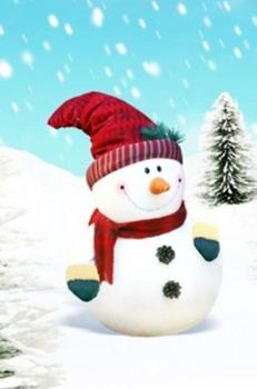 Cute Snowman Whatsapp DP