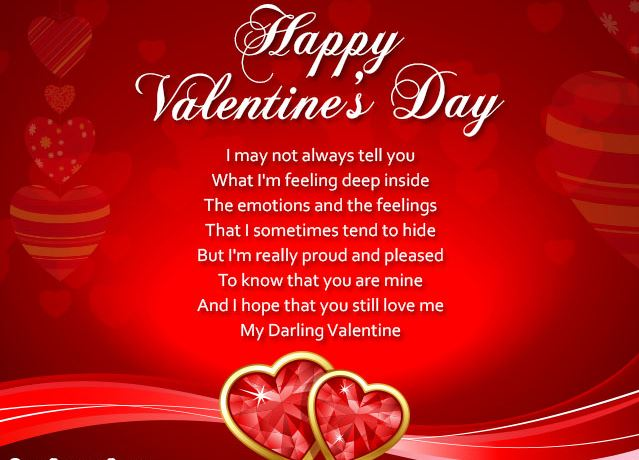 Valentine Love Messages 2018 Valentines Message For My