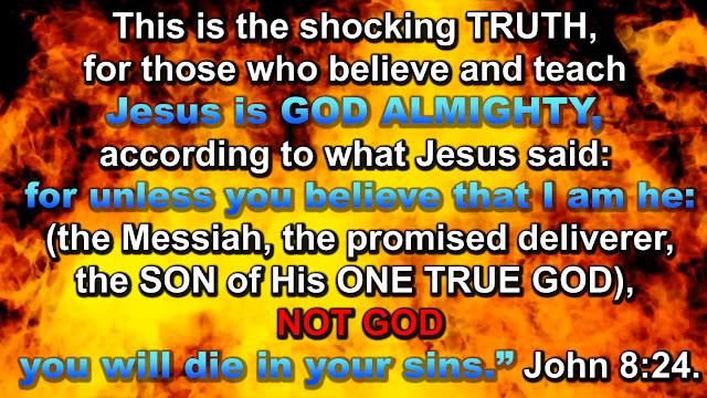 JESUS IS NOT GOD.