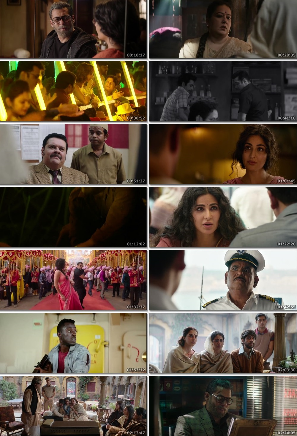 Screen Shot Of Bharat 2019 Full HD Movie Free Download FHD 1080P HEVC x265 Direct Download