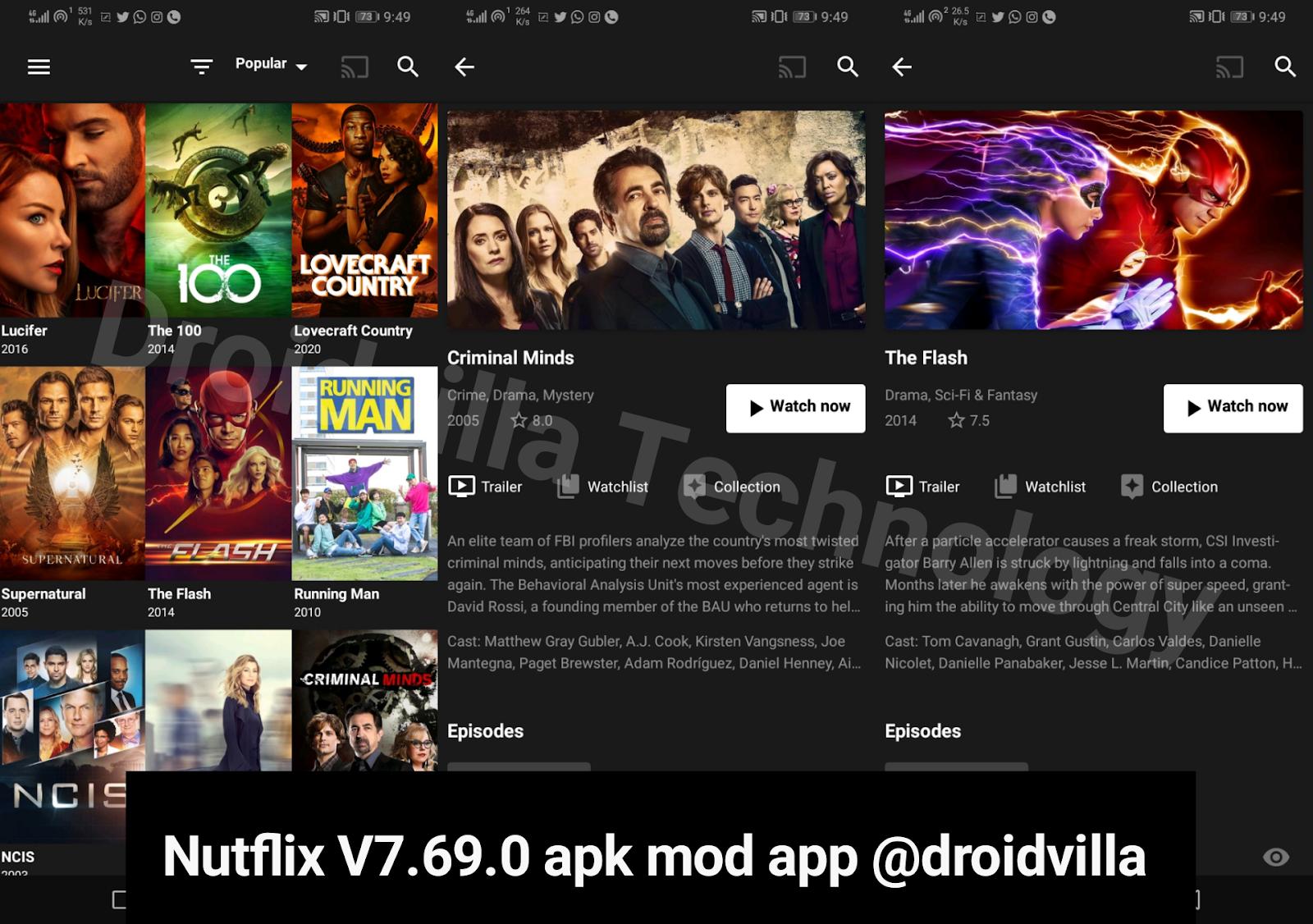 Nutflix (Netflix/Teatv) V7.69.0 apk