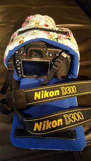 Handmade Custom Camera Bag For a Nikon D300 Camera