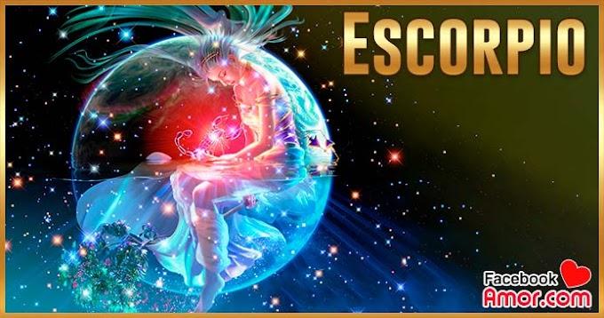 Horóscopo diario Escorpio para facebook