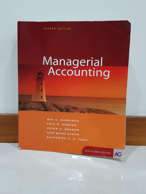 المحاسبة الإدارية  Managerial Accounting