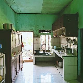Ruang Makan Rumah Second - Hadap Timur - Jual Tanah Aja - Lokasi Jl. Perwira Gatot Subroto Medan Sumatera Utara