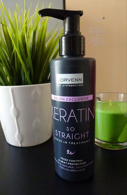 προϊον κατά της θερμότητας Lorvenn keratin so straight
