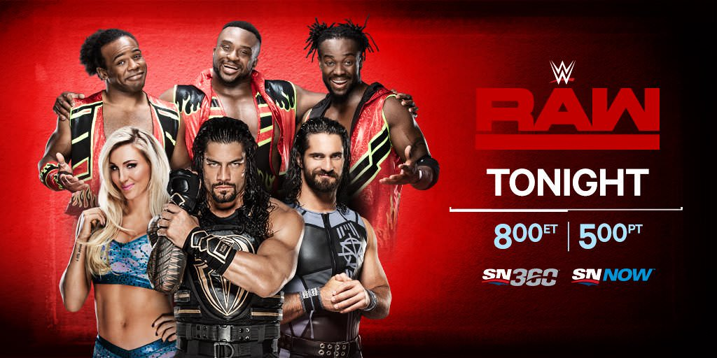WWE Monday Night Raw 9th April 2018 500MB HDTV 480p x264
