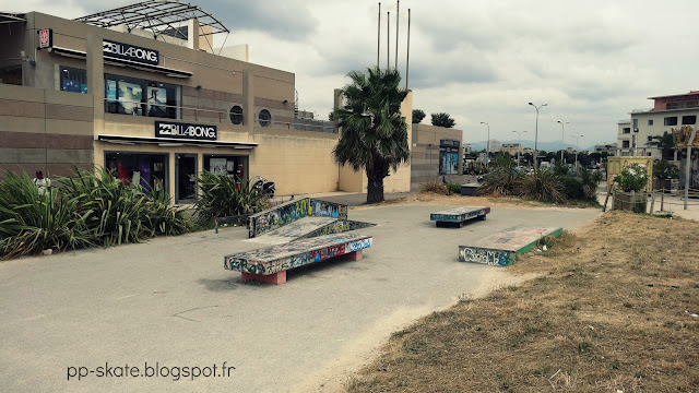 skatepark Escale Borely Marseille