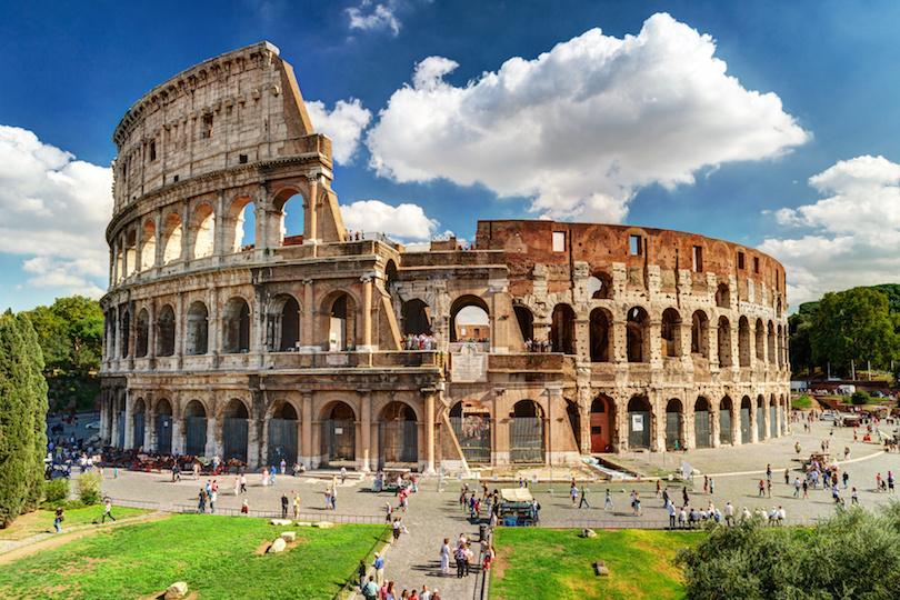اثار رومانية تاريخية قديمة