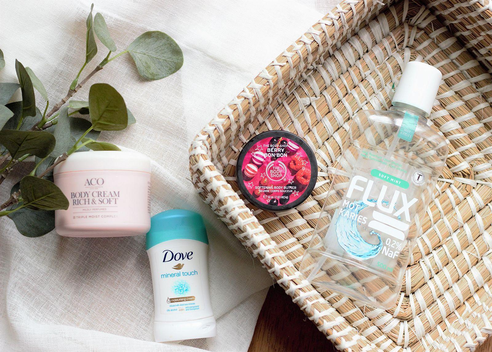 Зъбна хигиена и тяло - Dove, FLUX, ACO, The Body Shop