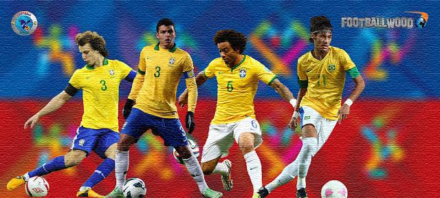 Brazil Copa America 2015 HD Wallpapers