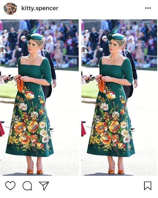 Kitty Spencer Shoes at the Royal Wedding