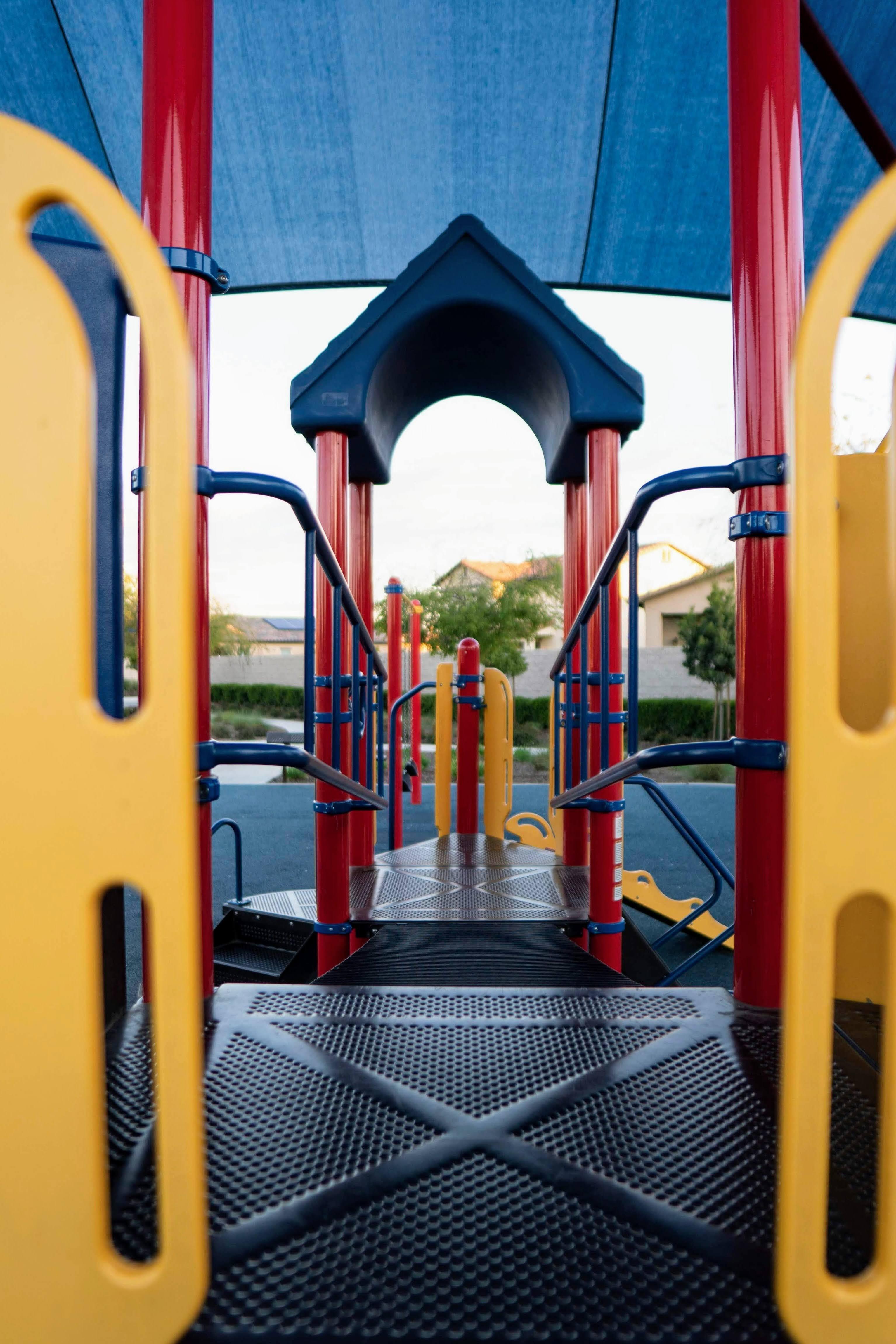 Multicolored Playground | Photo by Ryan Sepulveda via Unsplash