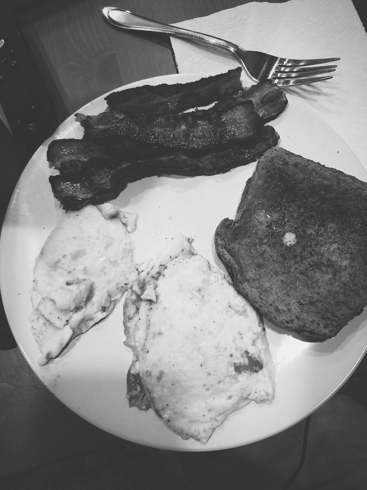 Brinner // life in black & white series // www.thejoyblog.net
