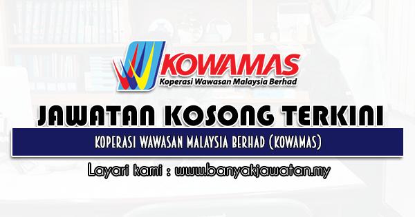 Jawatan Kosong 2021 di Koperasi Wawasan Malaysia Berhad (KOWAMAS)