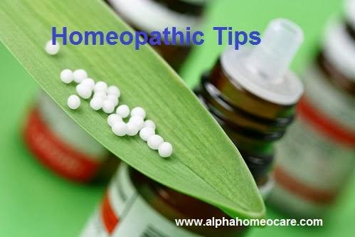 Homeopathy Tips