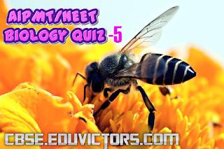Biology Quiz-5 (AIPMT/NEET/CET) (#biologyquiz)(#eduvictors)