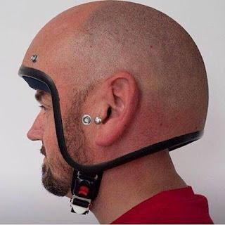 Meme helmet head at Toprank JDM