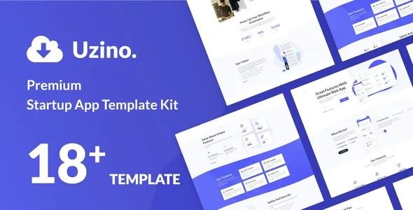 Best Startup App Elementor Template Kit