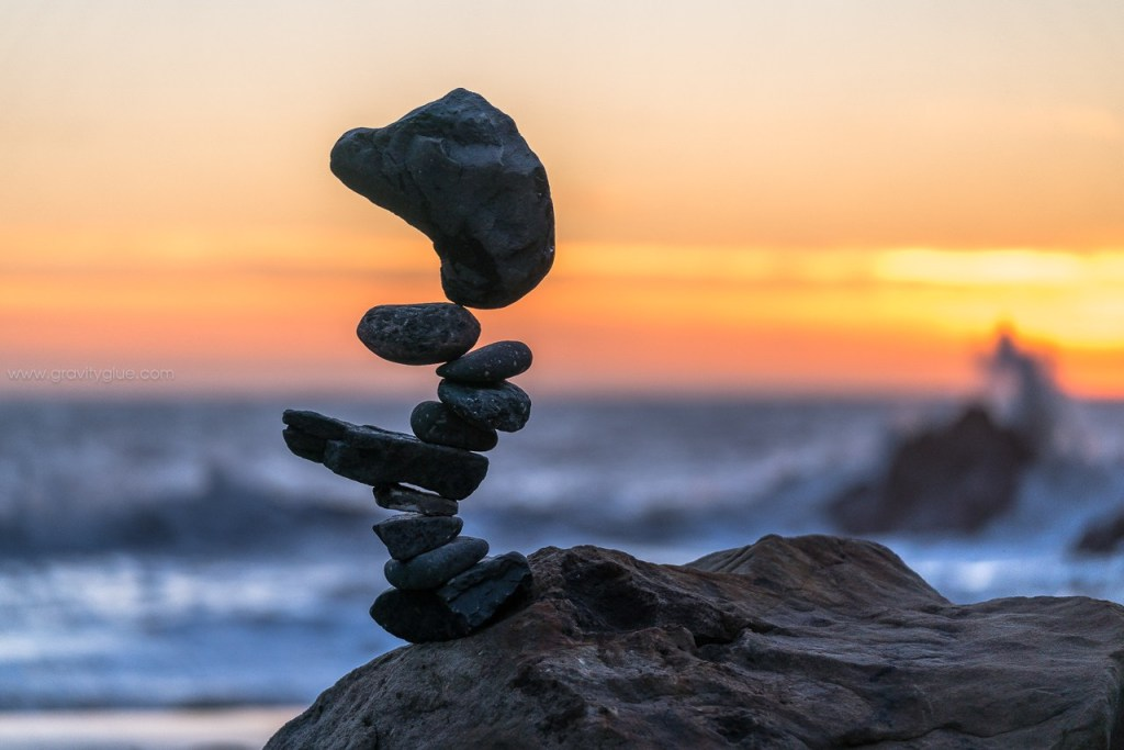 Have A Nice Day The Rock Balancing Art By Michael Grab