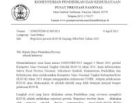 Edaran dan Panduan Registrasi Peserta KSN-K Jenjang SMA/MA Tahun 2021