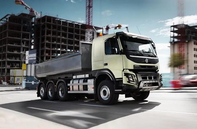 Spesifikasi,Harga dan Pajak Truk Volvo FMX Berteknologi Canggih