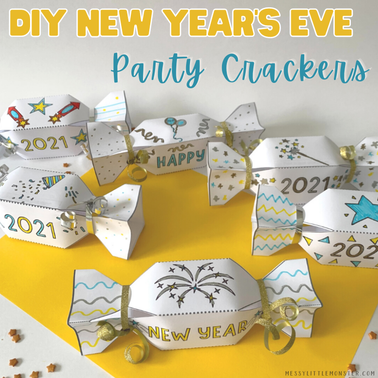 DIY New Years Eve Party Crackers