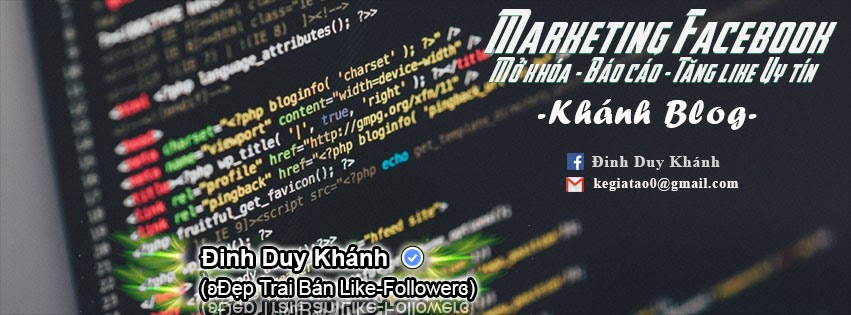 Share PSD Bìa Marketing Facebook And Code - Khánh Blog