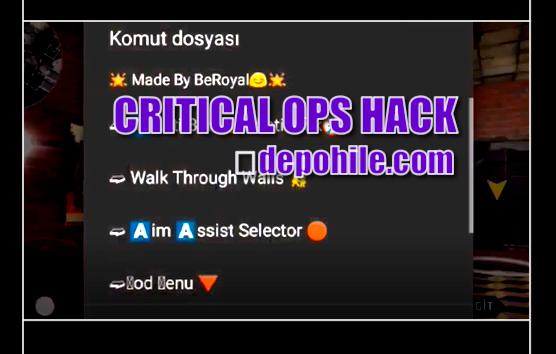 Critical Ops 1.16.0.x Beroyal Script Tüm Hileler Haziran 2020 Yeni