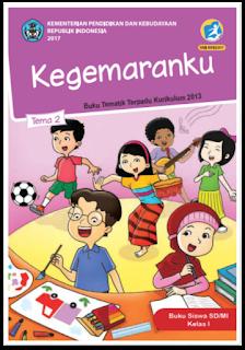 download gratis buku tematik kelas 1 tema 2
