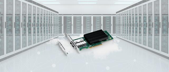 25 Gigabit SFP28 Dual Port Ethernet Network Adapter