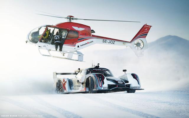 スキーに行く用にカスタムされた「ランボルギーニ・ウラカン」をプロスキーヤーのヨン・オルソンが公開!