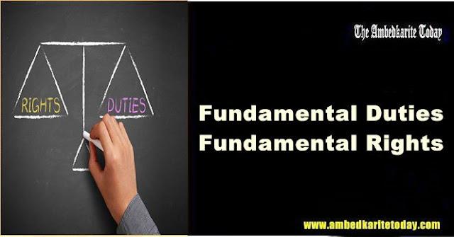Fundamental Duties - Fundamental Right