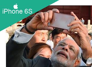 Which Mobile does Prime Minister Narendra Modi use?