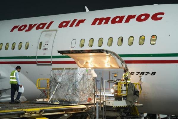 """رسميا...وصول أول شحنة من لقاح """"سينوفارم"""" الصيني إلى المغرب"""