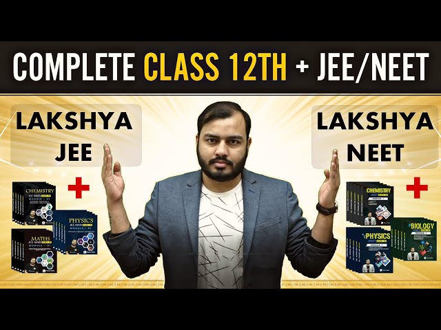 Physicswallah Lakshya JEE Study Material For JEE MAIN & ADVANCE [PDF]