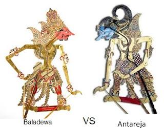 Pertarungan Baladewa vs Antareja