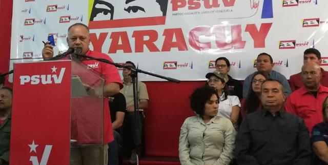"""""""Los vamos a joder y no es jugando"""", advierte Diosdado a la oposición"""