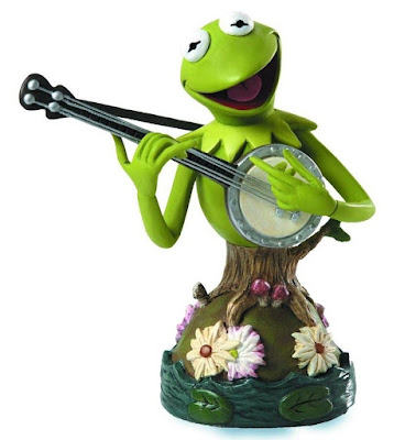 Walt Disney Showcase Collection The Muppets Kermit the Frog Mini Bust by Grand Jester Studios
