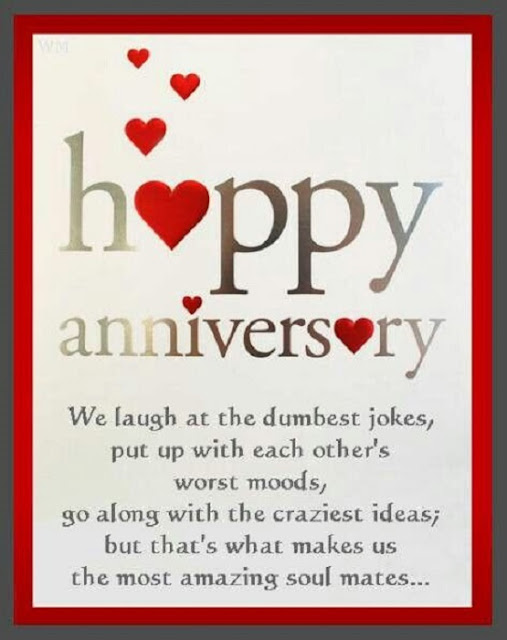 Happy Wedding Anniversary Card