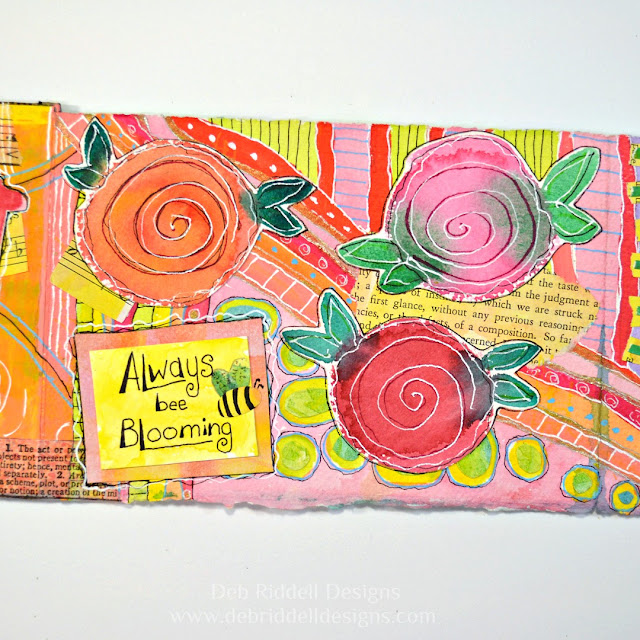 Concertina Book Page Two