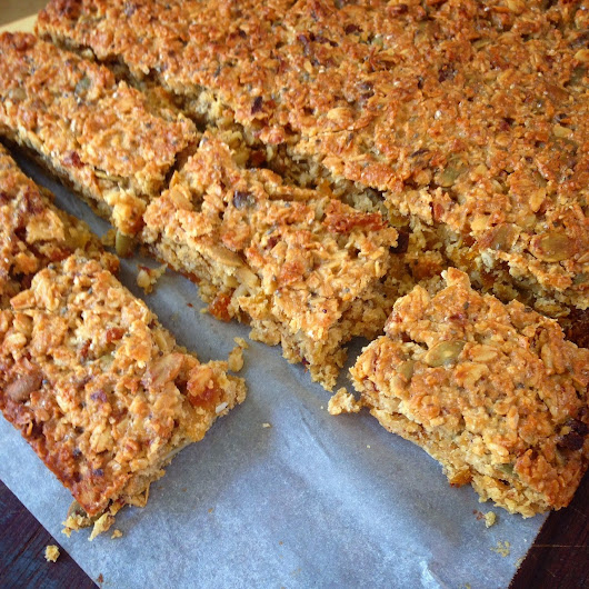 Recipe-Blog: Chewy School-friendly Muesli Bars