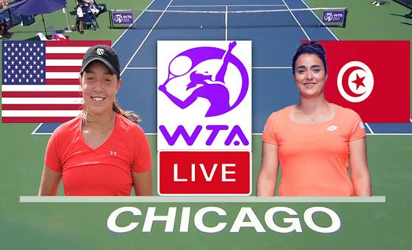 Match De Tennis: Pegula Jessica vs Ons Jabeur En Direct WTA Chicago tennis 2021