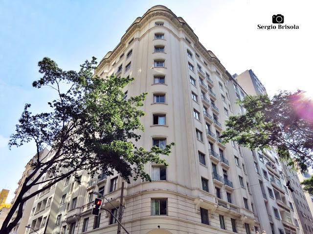 Vista ampla da edificação do Hotel Selina Aurora São Paulo - República - São Paulo