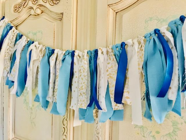 Athomewithjemma, diy, fabric, garland, decor, homemaker, homemaking, crafts