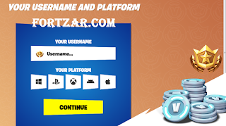 Fortzar.com free vbucks fortnite from fortzar com