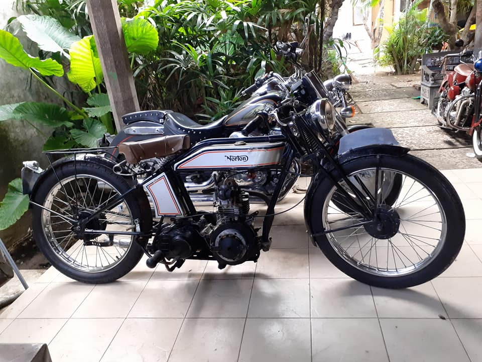 Jual Motor Custom Bali Norton 1927